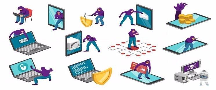 انواع کلاهبرداری اینترنتی